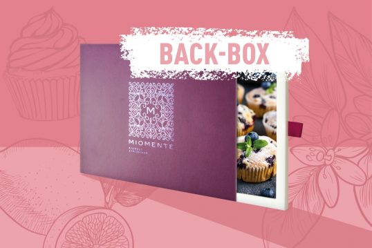Backkurs-Gutschein  Miomente BACK-Box