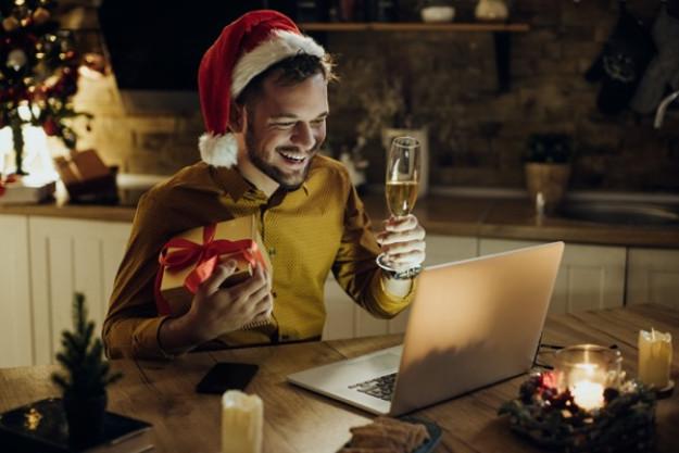 Virtuelle Weihnachtsfeier Online mit Tasting