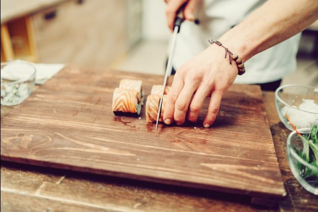 Asia-Kochkurs-Herten – Sushiröllchen