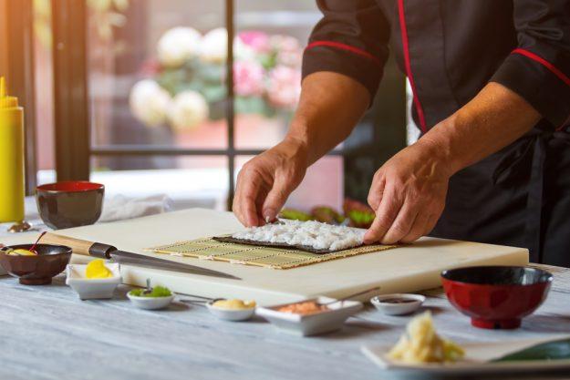 Geschenk-Gutschein-Kochkurs – Sushi rollen