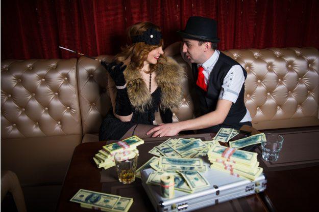 Geschenkgutschein Krimi-Dinner – Banditen-Duo