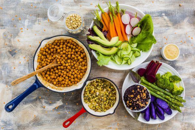 Kochkurs Schwerte – Zutaten für Buddha Bowl