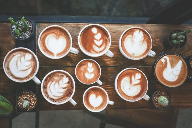 Latte-Art Kurs Herten – Latte Art Muster