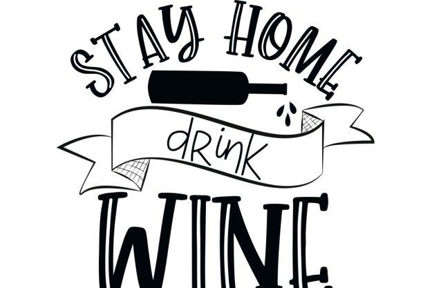 Online Weinseminar stay home drink wine