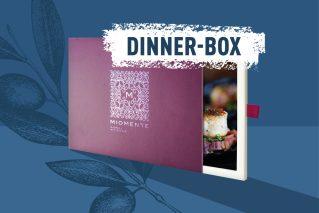 Erlebnisdinner-Gutschein  Miomente DINNER-Box