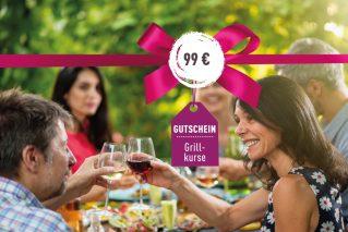 Grillkurs-Gutschein Grillkurs-Gutschein 99€