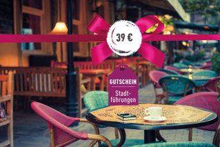 Gutschein für eine kulinarische Stadtführung Gutschein kulinarische Stadtführung 39€