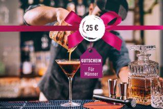 Gutschein für Männer Gutschein für Männer 25€