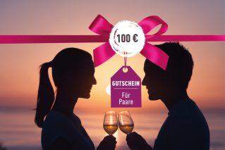 Gutschein für Paare Gutschein für Paare 100€