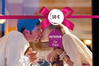 Gutschein für Paare Gutschein für Paare 50€