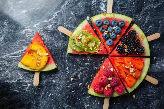gesunder-kochkurs-stuttgart-wassermelonenstücke