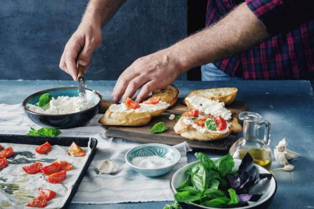 Italienisch-Kochkurs Reutlingen - Antipasti vorbereiten