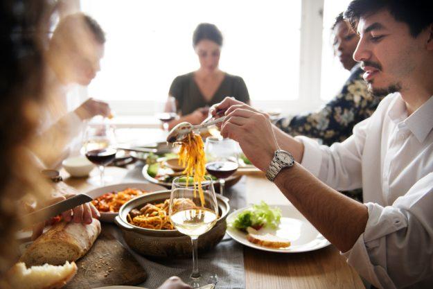 Italienisch-Kochkurs Reutlingen - Spaghetti essen