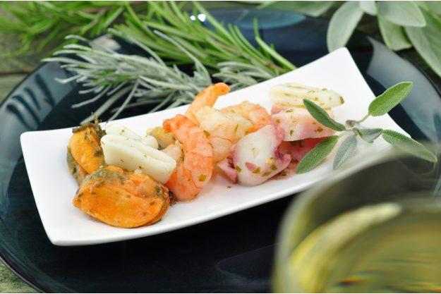 Mediterraner Kochkurs Stuttgart - gemischte Meeresfrüchte