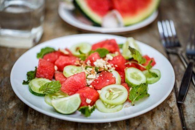 Saisonaler Kochkurs –Wassermelonensalat