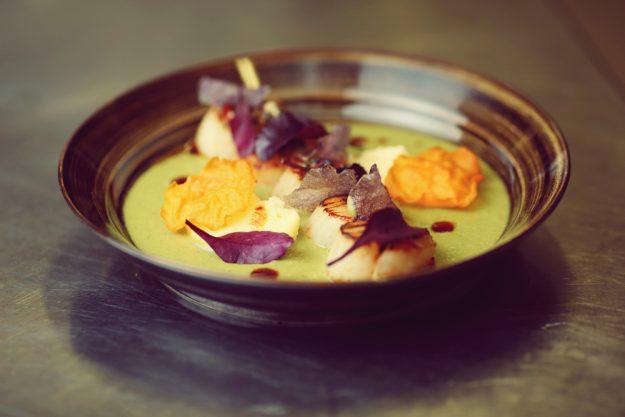 Saucen-Kochkurs Stuttgart – Suppe mit Shrimps