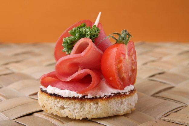 Tapas-Kochkurs Stuttgart - Schinken-Tomaten Häppchen