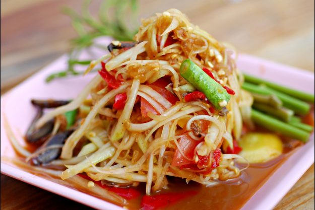 Thai-Kochkurs Stuttgart - asiatisches Nudelgericht