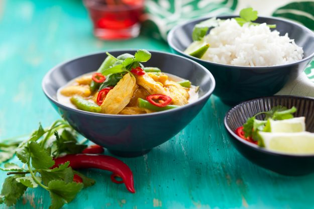 Thai-Kochkurs Stuttgart - Hähnchen Curry