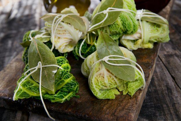 veganer Kochkurs Reutlingen – Wirsingroulade