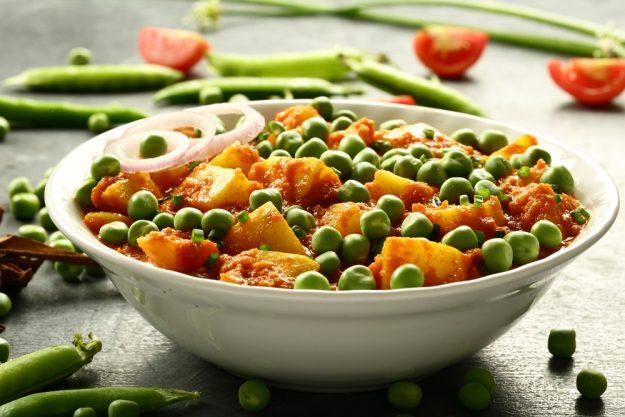 Veganer Kochkurs Stuttgart –  Curry mit Erbsen