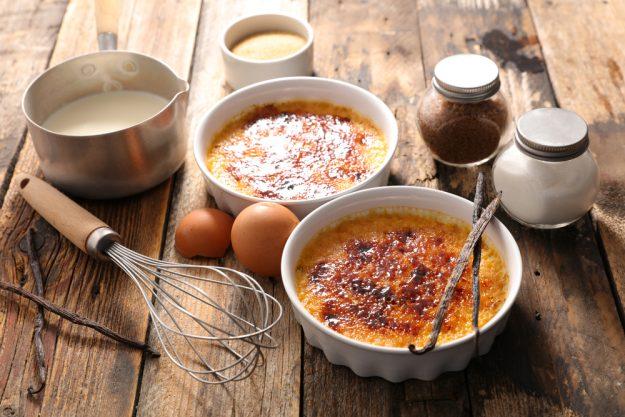 Vegetarischer Kochkurs Filderstadt – Creme Brulée