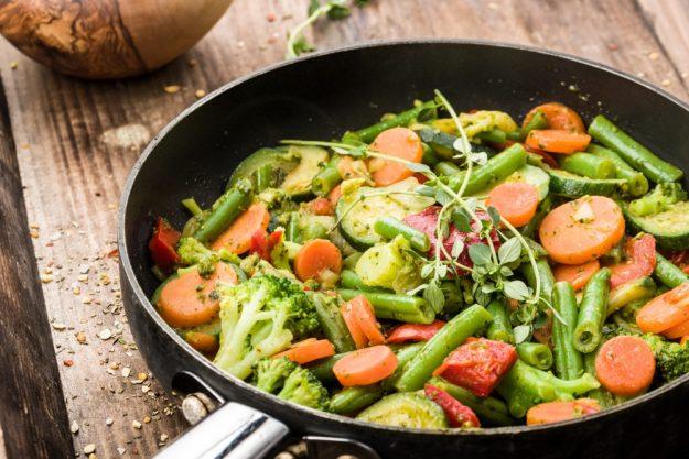 Vegetarischer Kochkurs in Stuttgart – Gemüsepfanne
