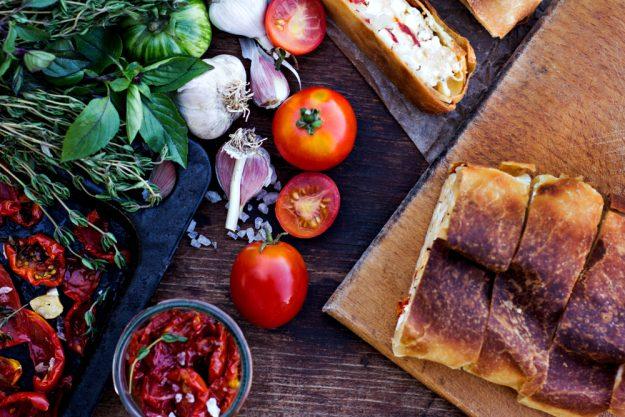 Vegetarischer Kochkurs in Stuttgart – Gemüsestrudel