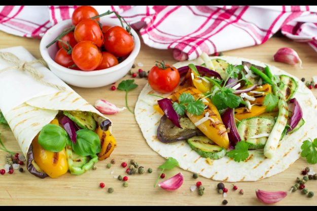 Vegetarischer Kochkurs Stuttgart – Gemüse-Wraps