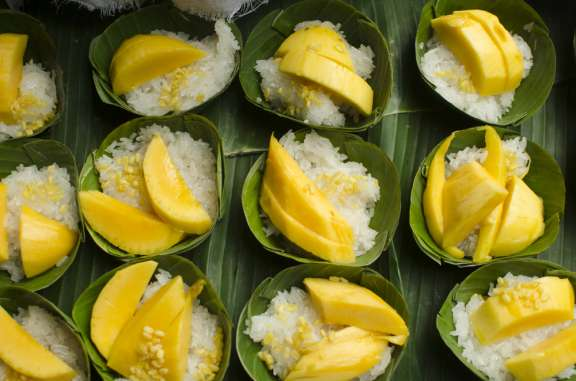 Thai-Kochkurs Berlin - Sticky Rice mit Mango