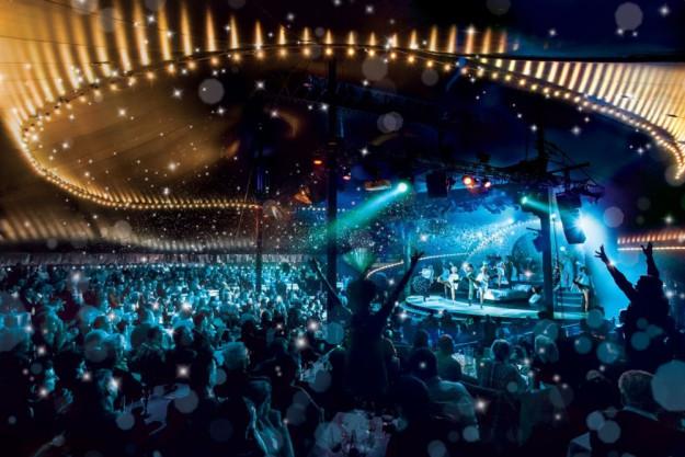 Erlebnisdinner Berlin – Ensemble auf der großen Bühne