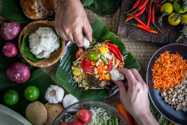 Thai-Kochkurs Berlin - frischer Ingwer