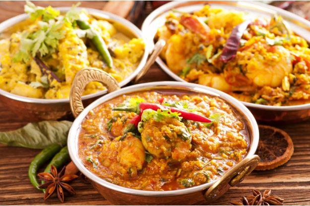 Betriebsausflug Berlin - Indische Currys