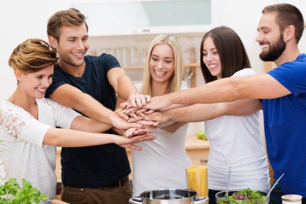 Incentive in Berlin - regionaler Kochkurs - Gemeinsam im Team