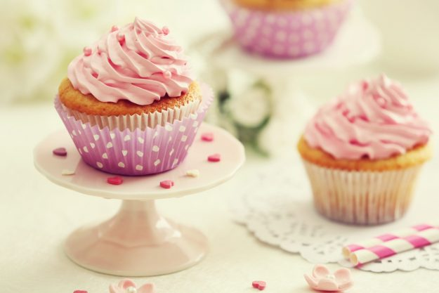 Cupcake-Kurs Berlin-Mahlow – rosa Cupcakes