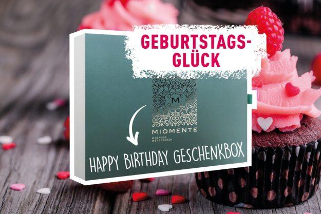 Geschenkgutschein zum Geburtstag – Geburtstagsglück
