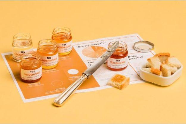 Honig-Verkostung – TRY Foods Box Honig