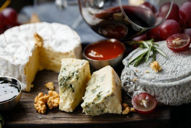 Tastings-Box mit Käse