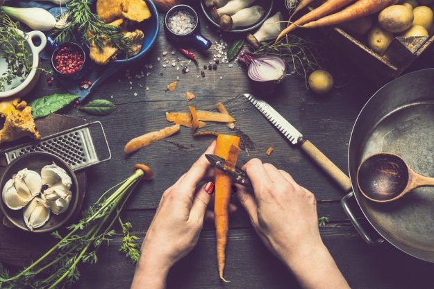 Kochkurs Berlin – Gemüse schälen und verarbeiten