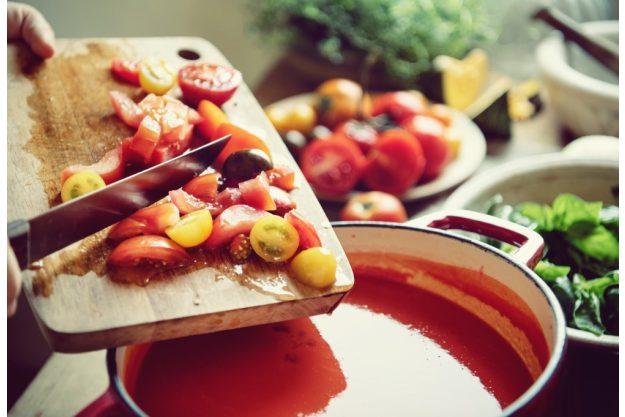 Kochkurs Berlin – Tomatensuppe