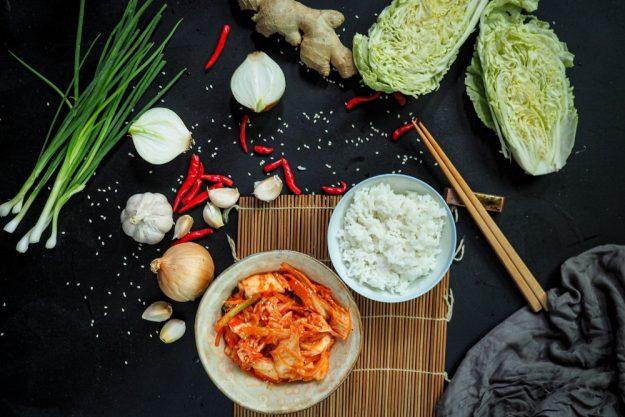 veganer Kochkurs Berlin Kimchi