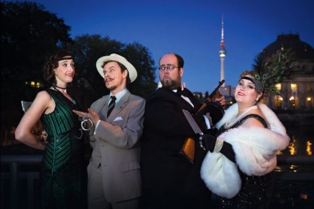 Krimi & Dinner Berlin – Krimi-Ensemble Mord auf der Spree
