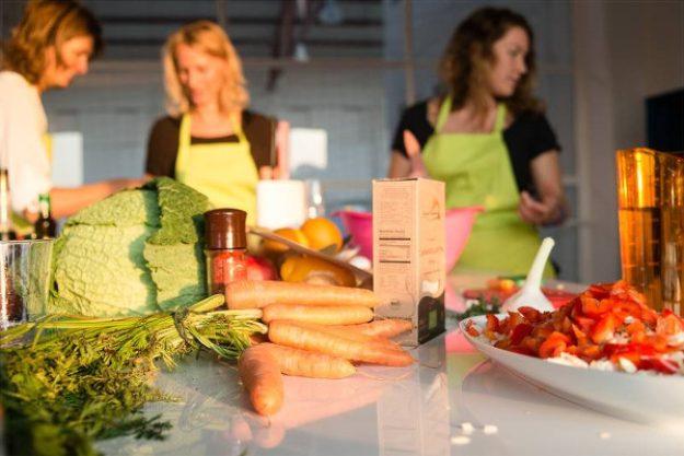 weihnachtlicher Kochkurs Berlin - vegetarisch Kochen