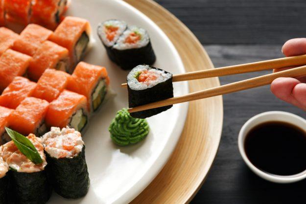 Sushi-Kurs Berlin – Sushi mit Wasabi
