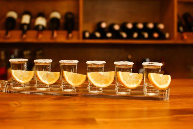 Tequila- und Mezcal-Tasting Berlin – Schnapsgläser