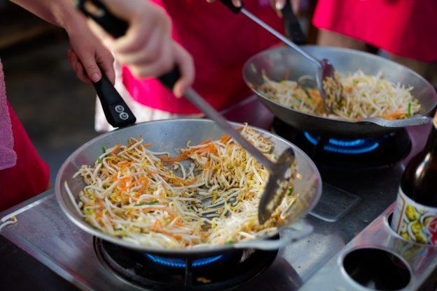 Thai-Kochkurs Berlin - kochen im Wok