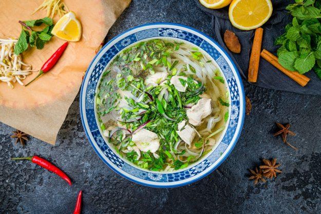 vietnamnesischer Kochkurs online die beste Suppe Pho