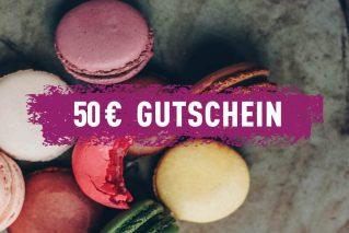 Erlebnis-Geschenk-Gutschein 50 € Geschenkgutschein