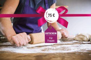 Gutschein für Frauen Gutschein für Frauen 75€