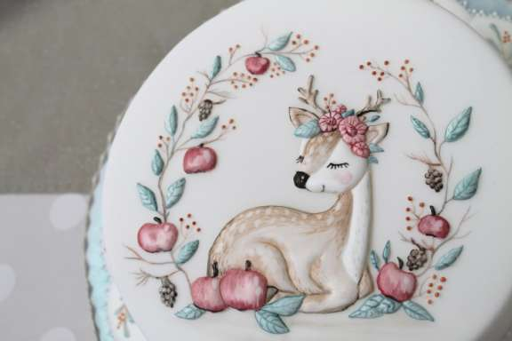 Dekorations-Kurs Hannover-Langenhagen  – Run Out Icing Bambi